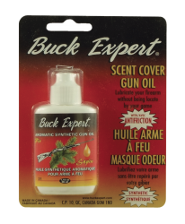 HUILE ARME À FEU SYNTHÉTIQUE + ANTI-FRICTION & MASQUE ODEURS SAPIN