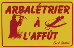 ARBALÉTRIER À L'AFFÛT