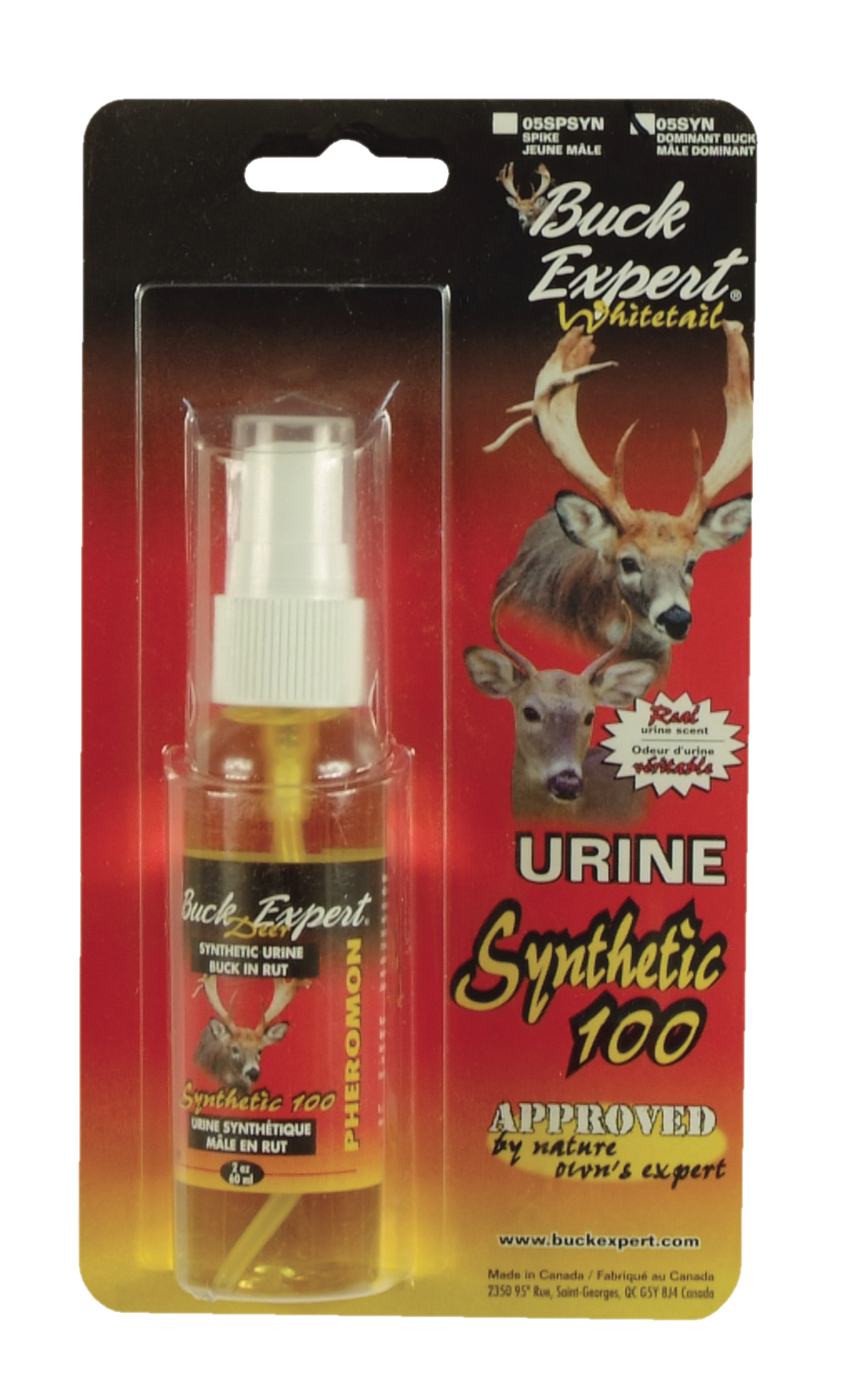 WHITETAIL SYNTHETIC DOMINANT BUCK URINE
