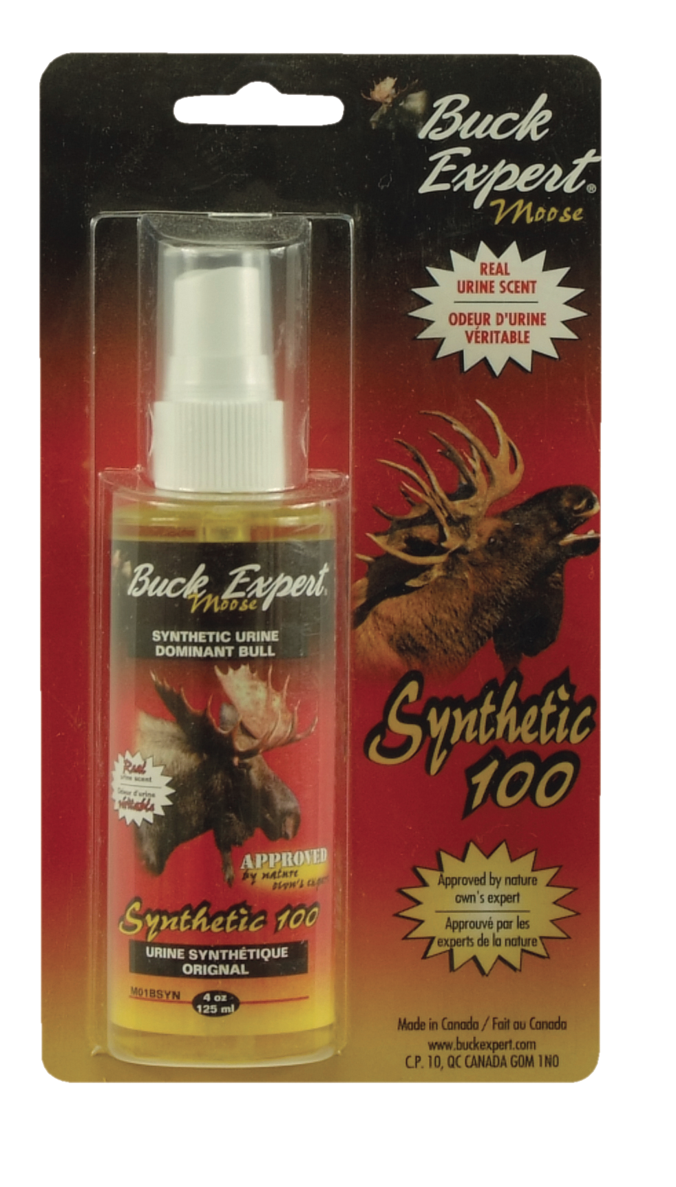 MOOSE SYNTHETIC DOMINANT BULL URINE