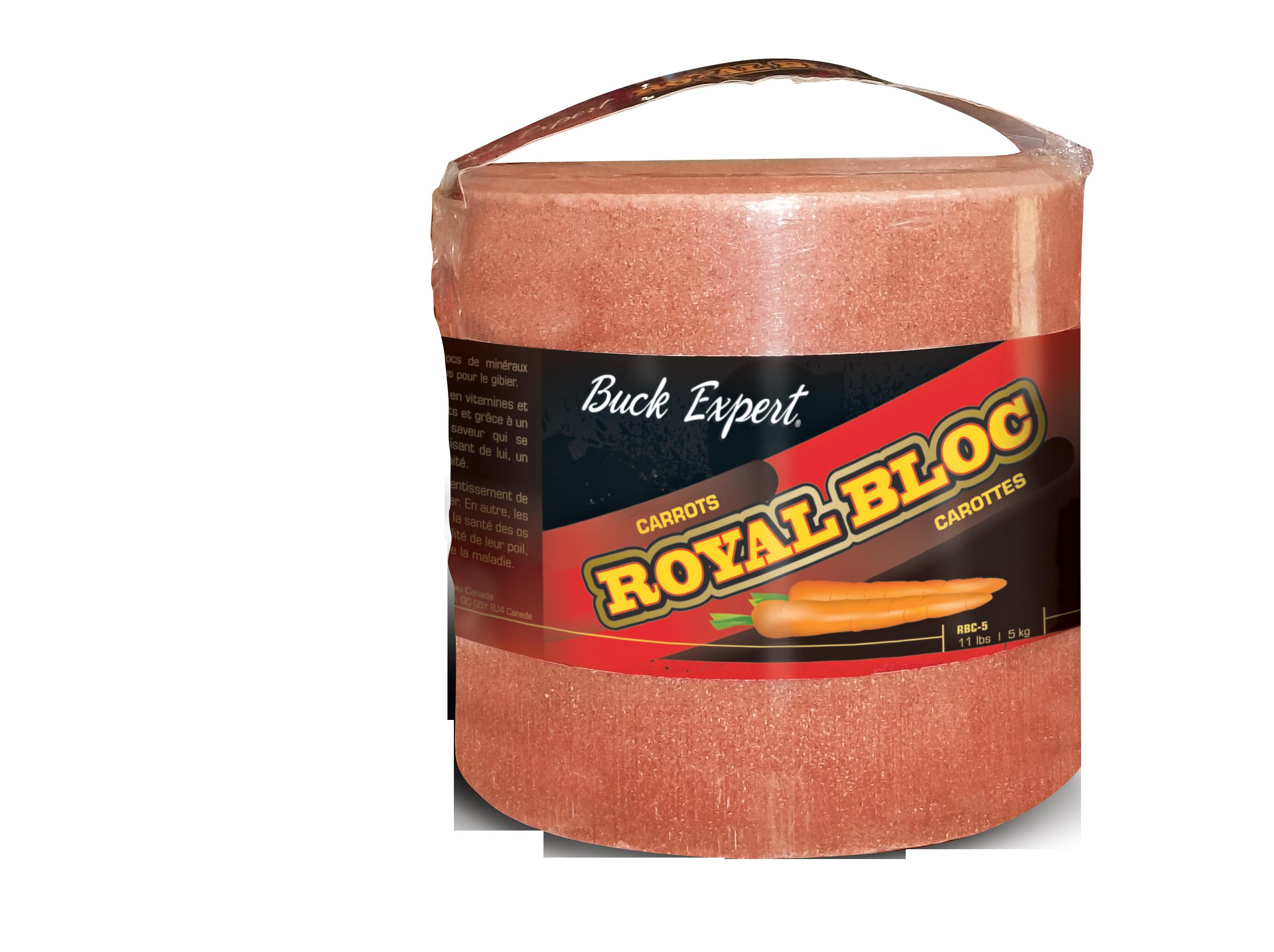 «ROYAL BLOC»  BLOC DE MINÉRAUX SAVEUR DE CAROTTES